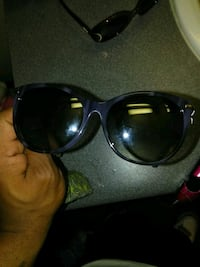 Blue Gucci sunglasses