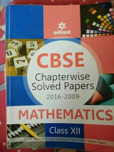 CBSE Chapterwise Solved papers mathematics book