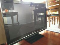 black Samsung flat screen TV Vancouver