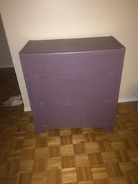 Got it for free , solid wood 3 chests dresser giving it away, pick up only Oakville, L6M 3H6