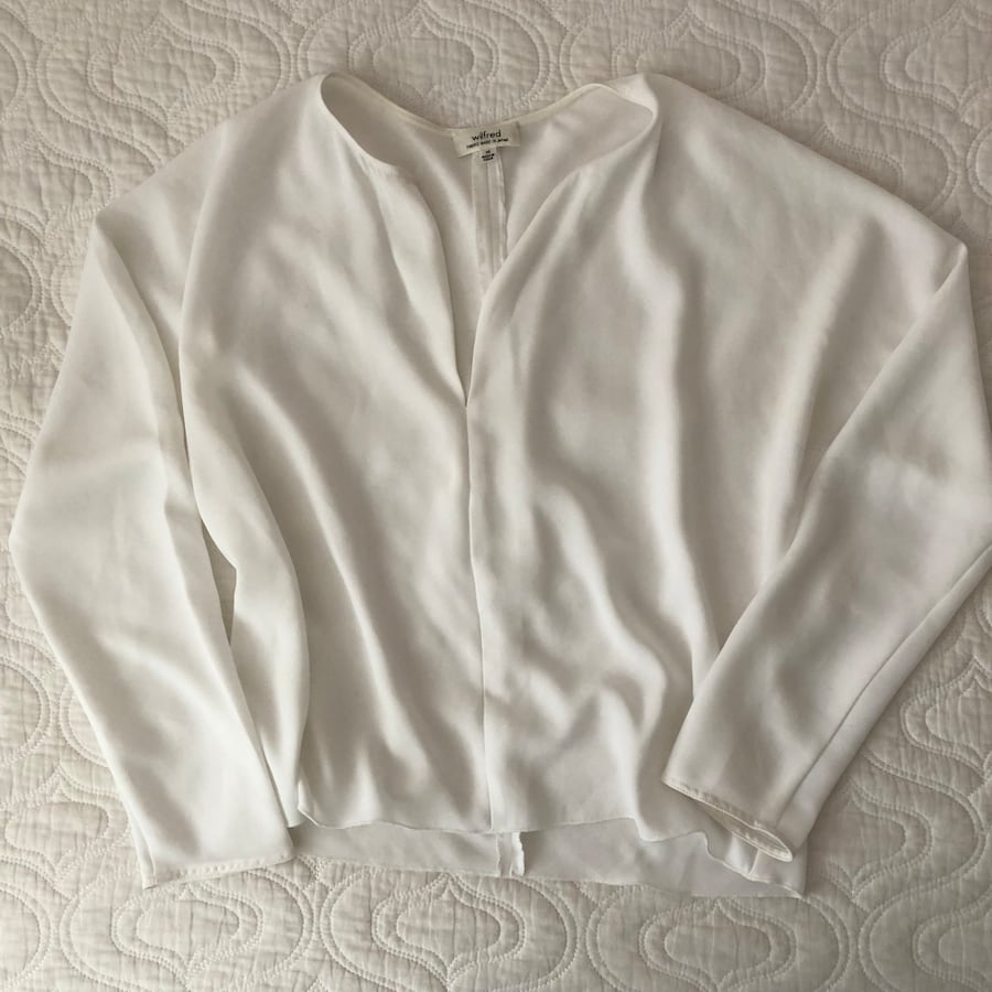 Wilfred white blouse