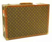 Vintage Louis Vuitton Bisten 60 suitcase