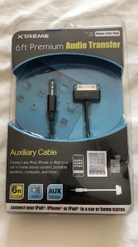 Audio Transfer Cable 6ft Winnipeg, R3L 1Y1