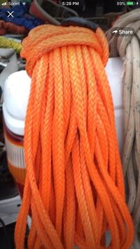 Rigging rope 200 ft 20000 lb strength been used 1 time this rope sells for $429 + tax Johnson City, 37601