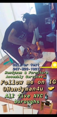 IG @HANDYMAN4U VIEW PICS OF ALL TYPE OF WORK  Brooklyn