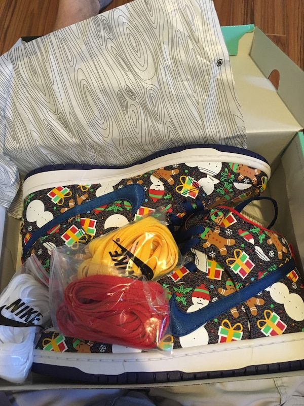 Ugly Christmas sweater Nike sb