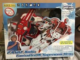 Microgear Radio Control 2.4 GHZ RC Supersonic Hero