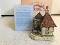 David Winter Cottages - Gatekeepers Cottage - hand signed! - 1991 Algonquin