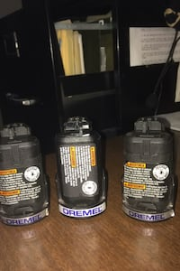 3–12 V lithium batteries for Dremel Multimax - With battery charger
