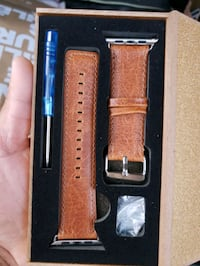 Apple watch band. Genuine leather. New 42mm