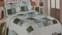 100% Cotton 3pc Queen Quilts Brand New Toronto, M1L 2T6