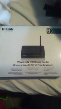 black D-Link wireless N 150 home router box Cambridge, N3H 1S3