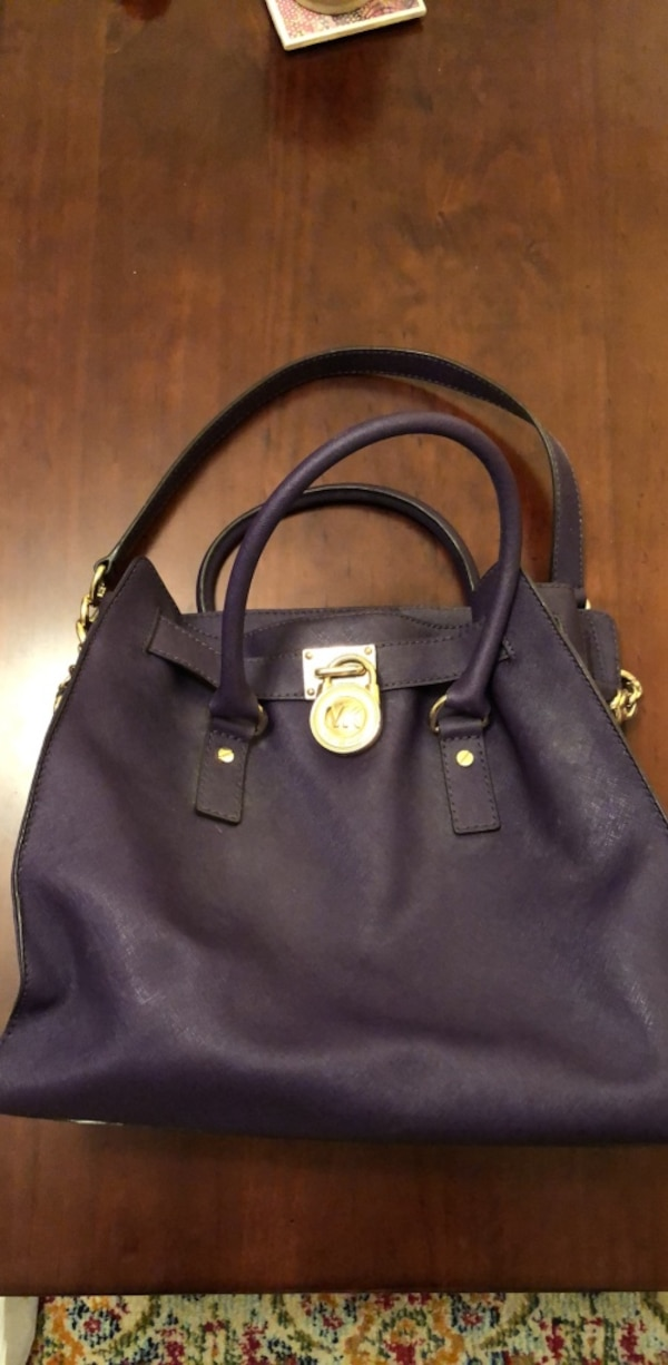 e9f517bbb017 Used Violet large Michael Kors handbag for sale in New York - letgo
