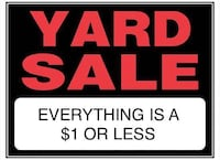 Yard Sale (Everything $1 or Less) Barrie, L4M 6X9