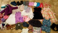 Bags and bags of Girl's Size 6 Clothes and Shoes