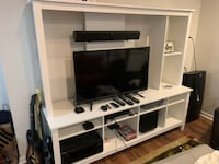 TV Stand - White - Only $130 Mississauga
