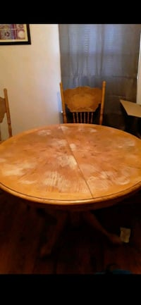 Wood kitchen table $75 OBO