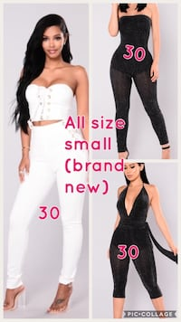 New and lightly worn clothing