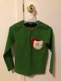 Thick long sleeve for 4-7ys kids