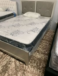 Brand New Full Size Silver Bed Frame ONLY  Silver Spring, 20910