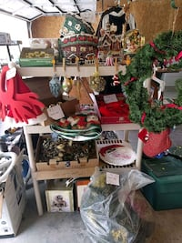 Christmas items - prices vary Crossville