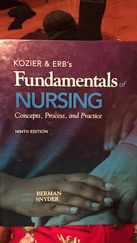 Kozier & Erb's Fundamentals of Nursing by Audrey Berman and Shirlee Snyder book