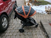 baby's gray and red stroller Ottawa, K1J 7W7
