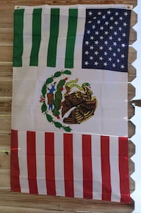 Usa/ Mexico Friendship flag size 3ft x 5ft  Colton, 92324