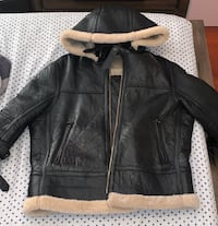 Genuine leather sheepskin coat size M New York, 11385