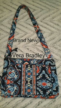 VERA BRADLEY CROSS BODY PAISLEY  PURSE Johnstown, 15901