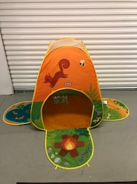 Little Tikes Camping Adventures Pop-Up Kids Play Tent - Excellent North Wales, 19454