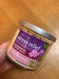 Bath and Body Works Aromatherapy Stress Relief Candle