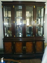 Oriental china cabinet for sale like new has the  Smithfield, 15478