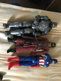 Assorted superhero figures  London, N6J 3N6