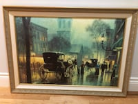 Horse and carriage painting  Kirkland, H9J 4B2