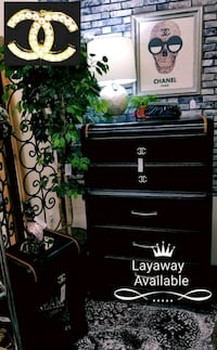 """CC"" Black & Gold Dresser *Layaway Available* Mesa, 85202"