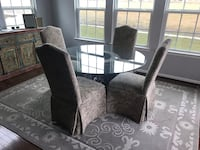 Black and gray floral sofa chair Baltimore, 21220