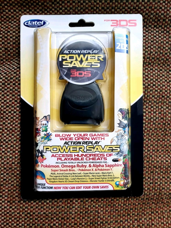 Action Replay Power Saves