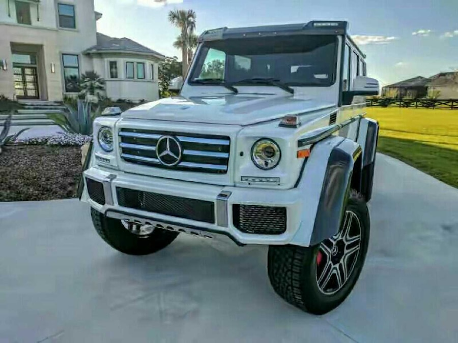 Used 2017 mercedes benz g class g550 4x4 squared in toronto for 2017 mercedes benz g550 4x4 squared