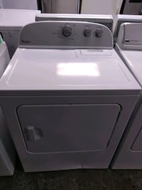 white front-load clothes dryer Fort Lauderdale, 33314