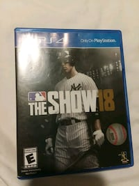 Sony PS4 The show 2018 game  Columbus, 43235