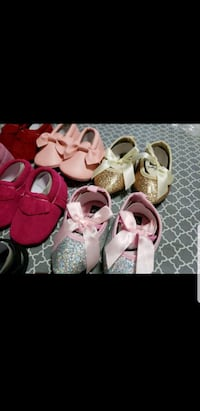 toddler's three pairs of shoes Fullerton, 92833