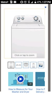 Electronics 180 firm its for both w/dryer together Raleigh, 27610