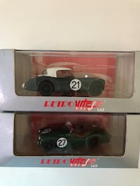 Two Voitures Model Cars NIB 欧文, 92604