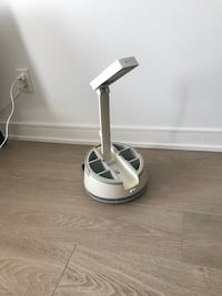 Desk Lamp with stationary storage