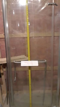 brown wooden framed glass display cabinet Longueuil, J4T 1P1