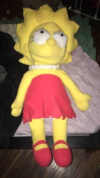 yellow and white dressed doll Los Angeles, 91343