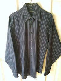 Men's dress shirt blue white stripes Covina, 91724