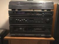 Panasonic Stereo Cassette Receiver with Phonograph