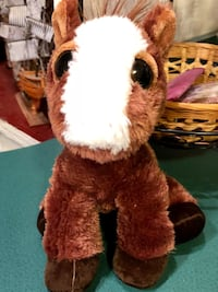 brown and white animal plush toy Virginia Beach, 23462